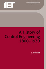 image of A History of Control Engineering 1800-1930