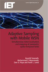 image of Adaptive Sampling with Mobile WSN: Simultaneous robot localisation and mapping of paramagnetic spatio-temporal fields