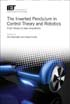 image of The Inverted Pendulum in Control Theory and Robotics: From theory to new innovations