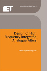 image of Design of High Frequency Integrated Analogue Filters