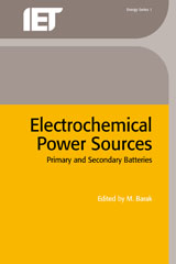 image of Electrochemical Power Sources: primary and secondary batteries