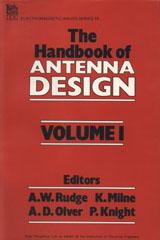 IET Digital Library: Handbook of Antenna Design, Vol  1