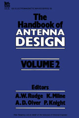 IET Digital Library: Handbook of Antenna Design, Vol  2