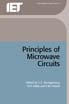 image of Principles of Microwave Circuits