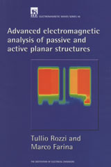 image of Advanced Electromagnetic Analysis of Passive and Active Planar Structures