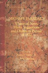 image of Michael Faraday's 'Chemical Notes, Hints, Suggestions and Objects of Pursuit' of 1822
