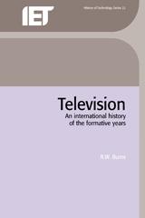 image of Television: An International History of the Formative Years