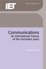 image of Communications: an International History of the Formative Years