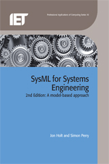 image of SysML for Systems Engineering: A Model-Based Approach