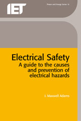 image of Electrical Safety: a guide to causes and prevention of hazards