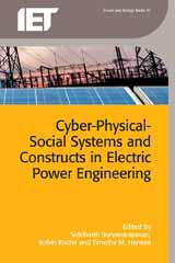 image of Cyber-Physical-Social Systems and Constructs in Electric Power Engineering