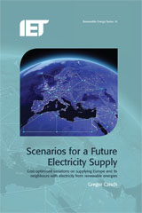 image of Scenarios for a Future Electricity Supply: Cost-optimized variations on supplying Europe and its neighbours with electricity from renewable energies
