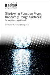 image of Shadowing Function from Randomly Rough Surfaces: Derivation and applications
