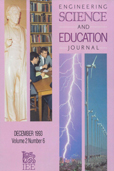 image of Engineering Science & Education Journal
