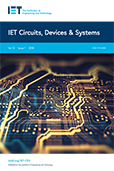 image of IET Circuits, Devices & Systems
