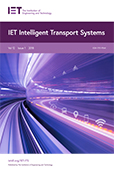 image of IET Intelligent Transport Systems