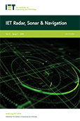 image of IET Radar, Sonar & Navigation