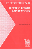 image of IEE Proceedings B (Electric Power Applications)