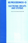 image of IEE Proceedings G (Electronic Circuits and Systems)