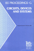 image of IEE Proceedings G (Circuits, Devices and Systems)
