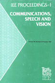 image of IEE Proceedings I (Communications, Speech and Vision)