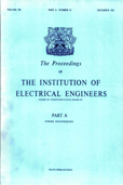 image of Proceedings of the IEE - Part A: Power Engineering