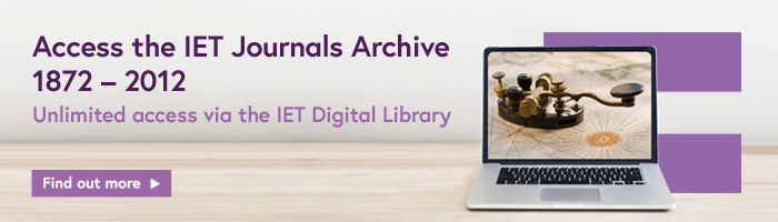 IET Digital Library: Home Page
